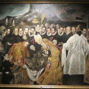 El entierro del señor de Orgaz (copia del Greco)