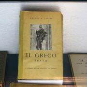Libro de Cossío sobre el Greco
